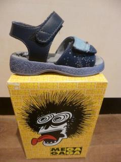 Mega Gaga NEU!! Mädchen Sandalen Sandaletten blau-multi, NEU!! Gaga d03a02