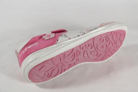 S.Oliver Ballerina weiß/ rose/ Lederinnensohle pink, Lederinnensohle rose/ NEU!! 3a4bb9