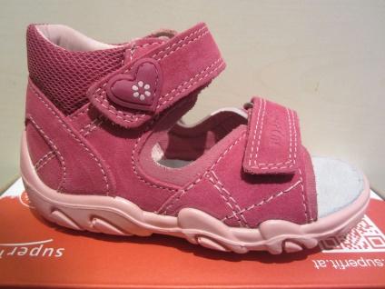 Superfit LL-Sandale Sandale Sandalette Sandalen pink KV Lederfußbett Neu !!!