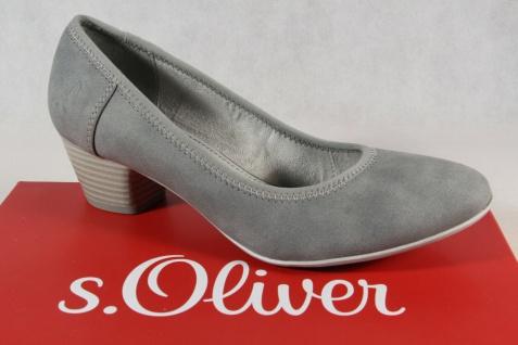 S.Oliver Damen Pumps Ballerina Slipper grau 22301 NEU!
