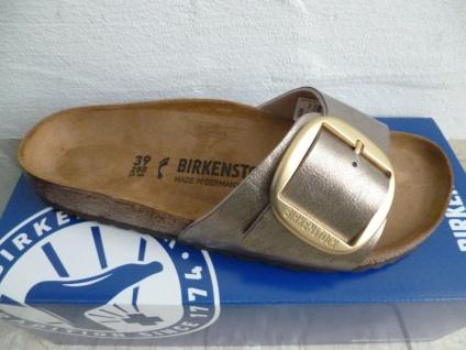 Birkenstock Madrid Pantolette Pantoletten Graceful Taupe 1016237 NEU!
