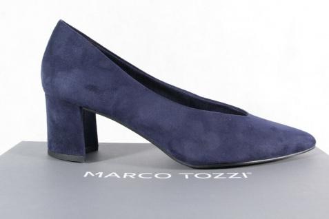 Marco Tozzi Damen Pumps Ballerina Slipper blau NEU! - Vorschau 2