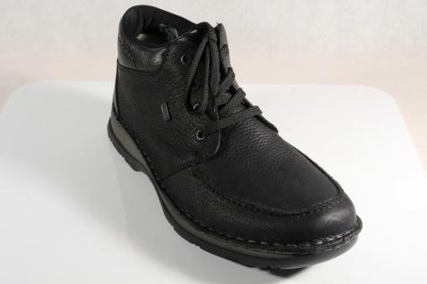 Rieker 05332 Herren Schnürstiefel schwarz NEU Leder Tex echte Lammwolle NEU schwarz 422768