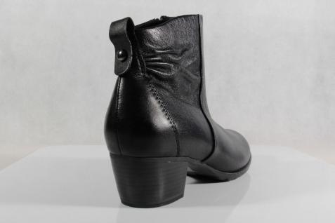 Marco Tozzi Stiefelette schwarz, Stiefel, schwarz, Stiefelette Leder NEU!! 7f75c2