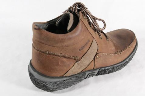 Rohde Stiefel zum Stiefel Schnüren, braun, Stiefel zum Echtleder, NEU 222e62