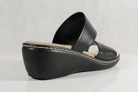 Jana Damen Weite Pantolette Sandalen Sandaletten schwarz, Weite Damen G 27505 NEU! 1855cb