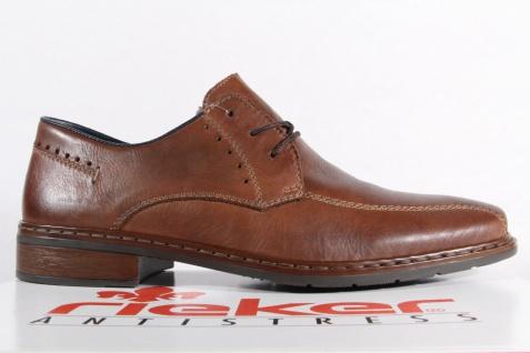 Rieker Herren Schnürschuhe, Halbschuhe Sneakers braun Leder NEU! Beliebte Beliebte Beliebte Schuhe 8f5a05