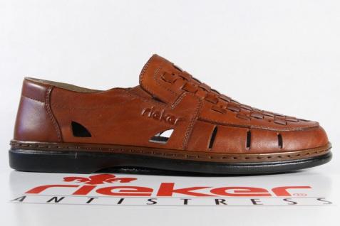 Rieker Herren Slipper Halbschuhe Sneakers Halbschuhe Slipper braun Leder 12389 NEU Beliebte Schuhe 3ba155