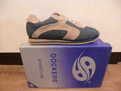 Dockers Schnürschuh Sneaker jeans/ jeans/ Sneaker braun NEU! 053559