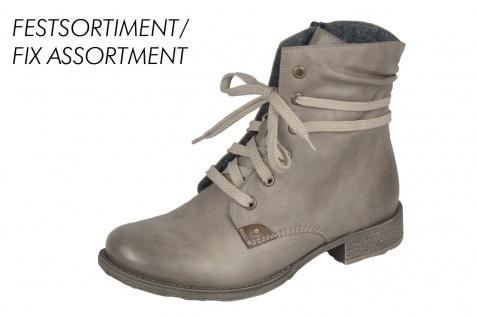 Rieker 70829 Stiefelette Damen Schnürstiefel Stiefel Stiefelette 70829 Boots beige/grau NEU 482a60
