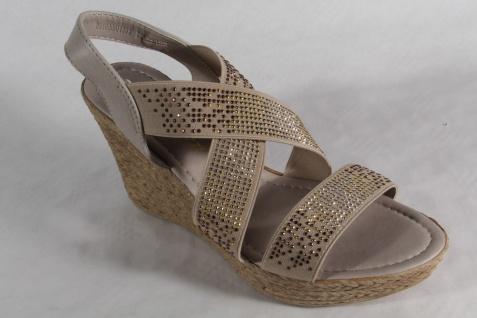 Marco Tozzi Damen Sandalen Sandaletten, NEU!! beige, weiche Innensohle NEU!! Sandaletten, 7ac12e