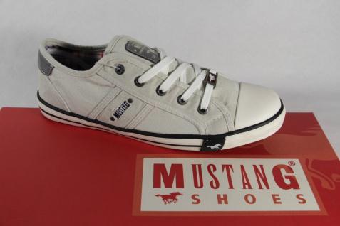 Mustang Schnürschuhe Sportschuhe Sneakers Halbschuhe Sportschuhe Schnürschuhe ice hellgrau NEU d5024d