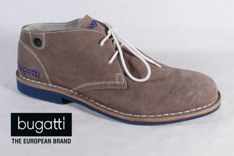 Bugatti Herren NEU! Schnürschuh, Halbschuh Sneaker grau, NEU! Herren 8f96c2