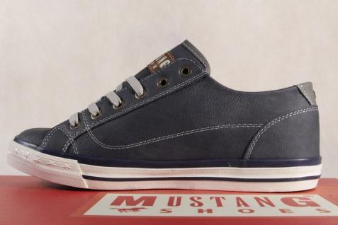 Mustang Schnürschuhe Sneakers NEU Halbschuhe Sportschuh blau 1146 NEU Sneakers b75c76
