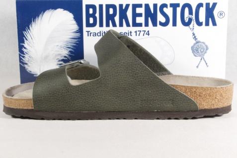 Birkenstock Pantolette Pantoletten Pantoffel Hauschuhe NEU! grün Weichbettung NEU! Hauschuhe 80e926