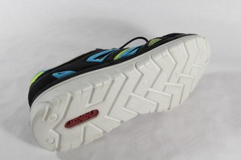 Rieker Slipper mit Wechselfußbetteinlage, schwarz/ multi, Kunstleder NEU