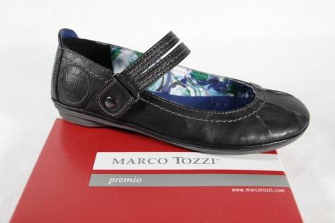 Marco Tozzi Ballerina Slipper Innensohle schwarz, weiche Innensohle Slipper NEU! e49814