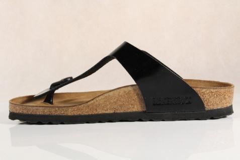 Birkenstock schmale Damen Zehenstegpantoletten, 043663 Softfußbett schmale Birkenstock Weite NEU! 007b49