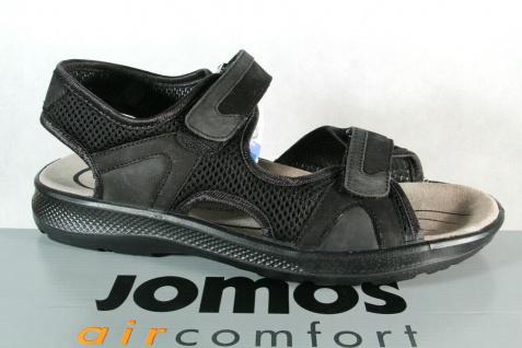 Jomos Herren Sandale Sandalen Sandalette Sandaletten Leder schwarz NEU!