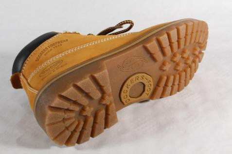 Dockers Damen Stiefel, Leder Stiefel, Winterstiefel, gelb, golden tan Leder Stiefel, 35AA203 NEU 18c5f0