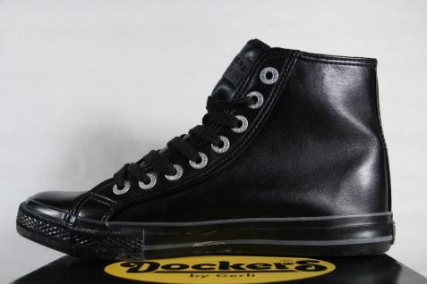 Dockers schwarz Stiefel, Boots, Halbschuh Kunstleder schwarz Dockers NEU d3d4e7