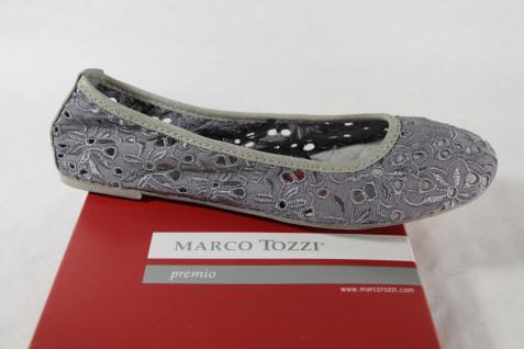 Marco Tozzi Ballerina weiche 22108 Slipper schilf grün weiche Ballerina Innensohle NEU! 005102