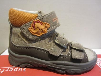 Superfit LL-Sandale braun/orange Lederfußbett Neu !!!