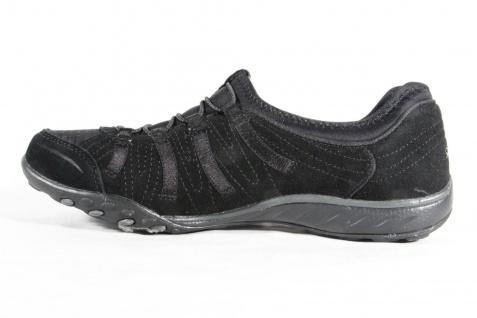 Skechers Damen Sportschuhe Slipper Halbschuhe Sneakers schwarz 22478 NEU!