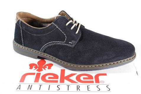 19eaf7e5e0ff2 Rieker Herren Schnürschuh 13410 Sneaker blau Leder NEU! - b3b279 ...