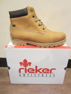 Rieker-Tex Stiefel, beige, Leder, wasserdicht, gefüttert, Z1430 NEU