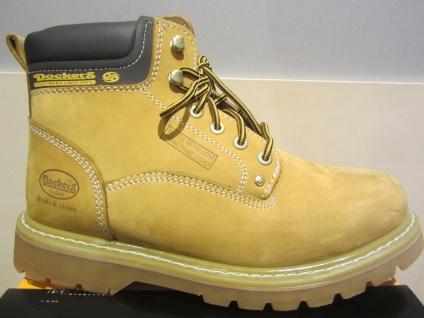 Dockers Stiefel, gelb, Echtleder, Warmfutter, Goodyear welted shoes NEU