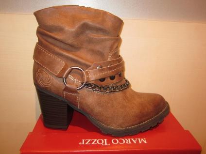 Marco Tozzi Stiefel, RV Stiefel/Stiefelette, braun, leicht gefüttert. RV Stiefel, NEU!! 270bd3