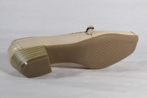 Caprice Slippers NEU Halbschuhe Pumps Leder beige NEU Slippers c7cc34