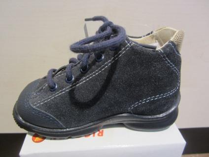 Ricosta Lauflern-Stiefel blau/beige blau/beige blau/beige Lederfußbett Neu !!! 70386c