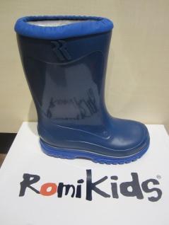 Romika Stiefel Boots Schneestiefel Winterstiefel Gummistiefel blau 5001 NEU