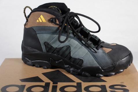 Adidas grün/braun/schwarz Herren Wanderstiefel A3 Leder grün/braun/schwarz Adidas 078433A3 Neu!! 9b345b
