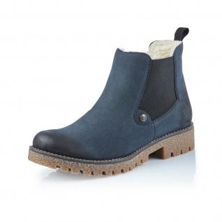 Rieker Stiefel, Stiefel Stiefelette Stiefel, Rieker Winterstiefel blau 79884 NEU! 770da8