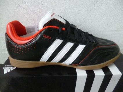 Adidas Fußballschuhe Sportschuhe Hallenschuhe Sneakers Halbschuhe schwarz NEU