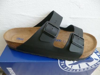 Birkenstock Arizona Pantolette Pantoletten Sandale Hausschuh schwarz 551251 NEU!