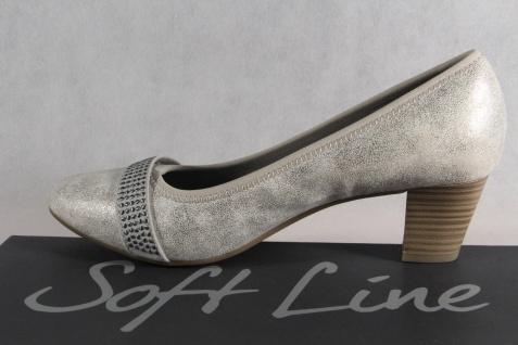 Soft Pumps Line by Jana Damen Pumps Soft Slipper grau Weite H NEU! afea7c