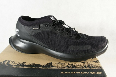 Salomon Sense Feel GTX Sportschuhe Halbschuhe Sneakers schwarz Neu!!!