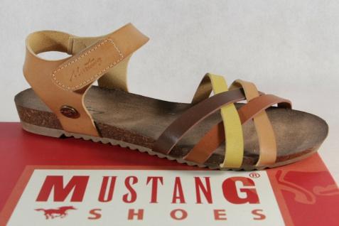 Mustang MädchenSandale Sandalette Sandalen Sandaletten braun Neu!