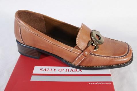 Sally O'Hara NEU!! Damen Slipper, braun, Gummisohle, NEU!! O'Hara 16a82a