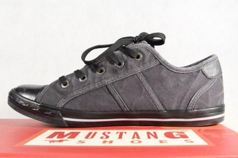 Mustang Schnürschuhe Sneakers Sportschuhe Halbschuhe 1099 1099 Halbschuhe schwarz NEU 5d01a6