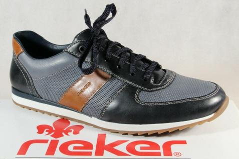 Rieker Halbschuhe Slipper Schnürschuhe Sneaker blau 19331 NEU!!