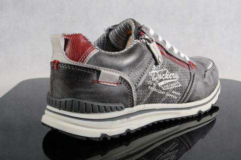 Dockers Herren Slipper Schnürschuhe Sneaker Halbschuhe Slipper Herren grau/ schwarz NEU! 967e5c