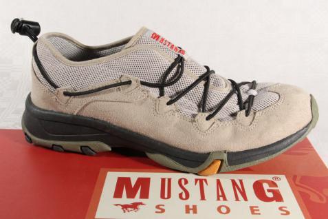 Mustang Slipper Gummisohle Sneakers Sportschuhe Halbschuhe beige Gummisohle Slipper NEU dd7715