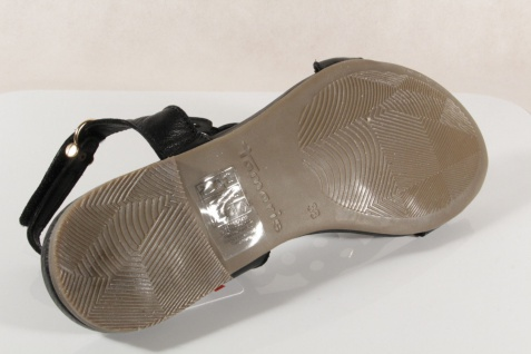 Damen Sandale 28102 Sandalen Sandaletten schwarz Echtleder 28102 Sandale NEU! 64e35f