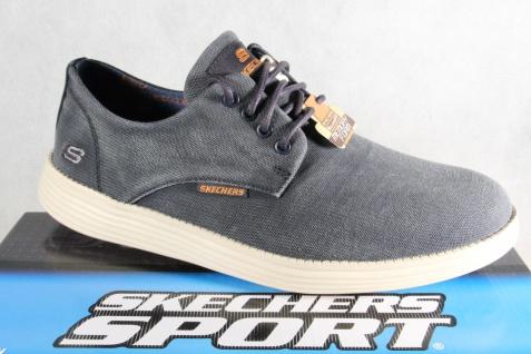Skechers Herren Sneaker Schnürschuhe Sneakers Sportschuhe blau denim NEU!