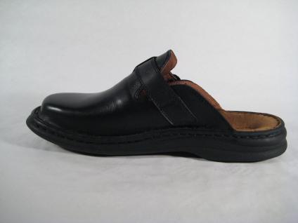 Seibel Clogs 10122 Pantolette Pantoffel Pantoletten 10122 Clogs schwarz Leder NEU 71a6ad